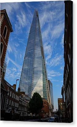London The Shard Canvas Print by Steven Richman