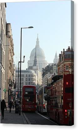 London Town Canvas Print by Pat Purdy
