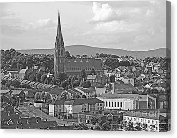 Londonderry Canvas Print by Mary Carol Story