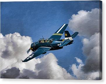 Lone Avenger Canvas Print by Peter Chilelli