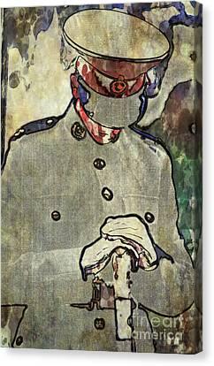 Lone Cadet Canvas Print by Paul Stevens