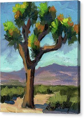 Lone Joshua Tree Canvas Print by Diane McClary