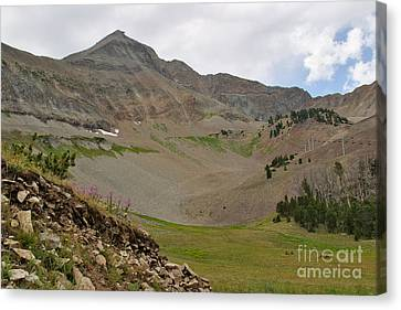 Lone Mountain Summit Canvas Print by Charles Kozierok