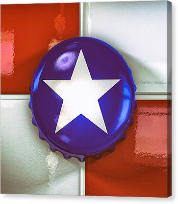 Lone Star Beer Canvas Print by Scott Norris