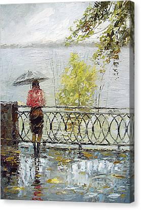 Loneliness Canvas Print by Dmitry Spiros