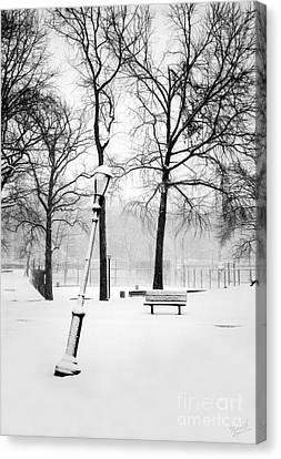 Lonely And Broken Canvas Print