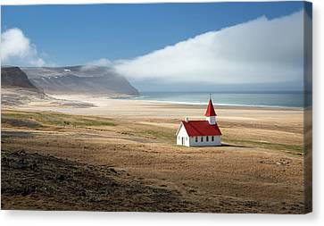Lonely Church Canvas Print