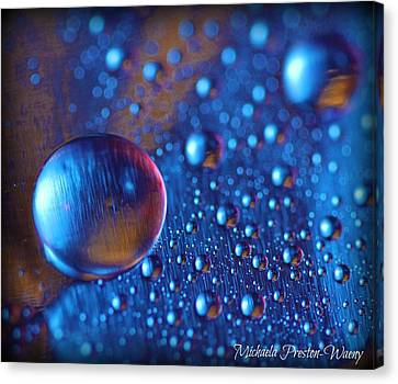 Canvas Print featuring the photograph Lonely by Michaela Preston