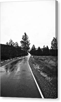 Lonesome Highway No. 2 Canvas Print