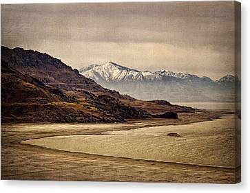 Canvas Print featuring the photograph Lonesome Land by Priscilla Burgers