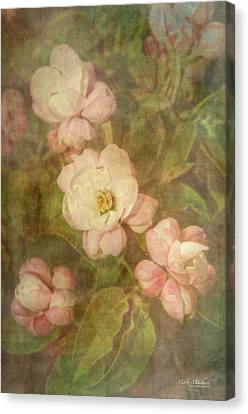 Long Ago Under The Apple Tree Canvas Print by Mary Machare