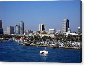 Long Beach Canvas Print