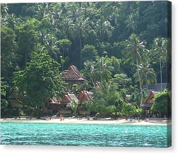Long Boat Tour - Phi Phi Island - 0113257 Canvas Print