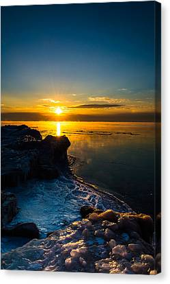 Long Cold Winter II Canvas Print by James  Meyer