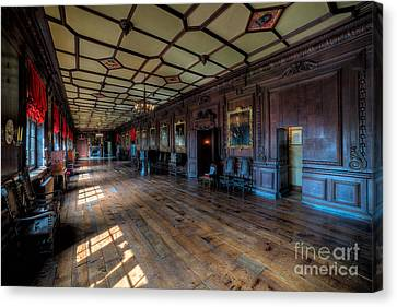 Long Gallery Canvas Print by Adrian Evans