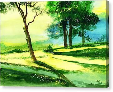 Long Horizon Canvas Print by Anil Nene