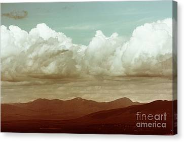Canvas Print featuring the photograph Long Horizon by Dana DiPasquale