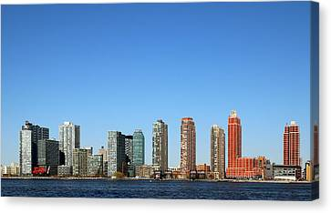 Long Island City Canvas Print by Jim Poulos