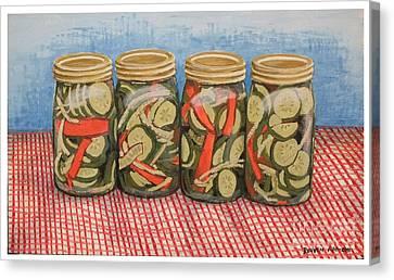 Long Island Pickles Canvas Print