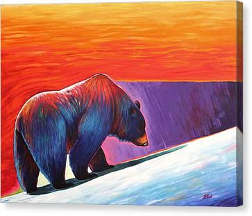 Long Journey Canvas Print by Joe  Triano