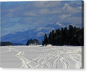 Long Lake Canvas Print by Heather Allen