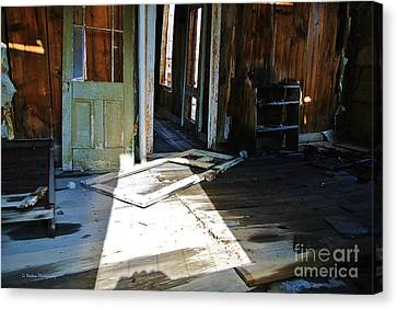 The Haunted Past Canvas Print by Li Newton
