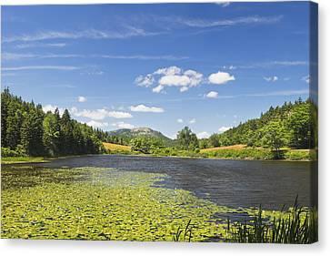 Long Pond - Acadia National Park - Mount Desert Island - Maine Canvas Print by Keith Webber Jr