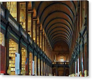 Long Room Canvas Print