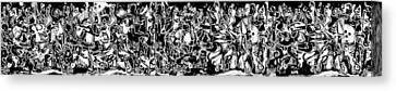 Long Series -- Archetype Canvas Print by George Curington