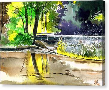 Long Time No See Canvas Print by Anil Nene