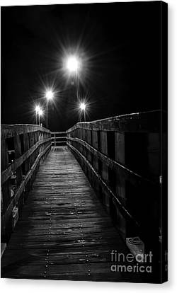 Canvas Print - Long Walk On A Short Pier by Terry Garvin