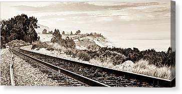 Long Way Home Canvas Print by Aron Kearney