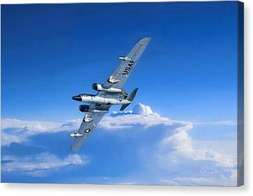 Tactical Canvas Print - Long Wing Weather Recon by Peter Chilelli