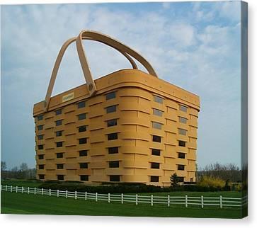 Longaberger Basket Company Nf Canvas Print