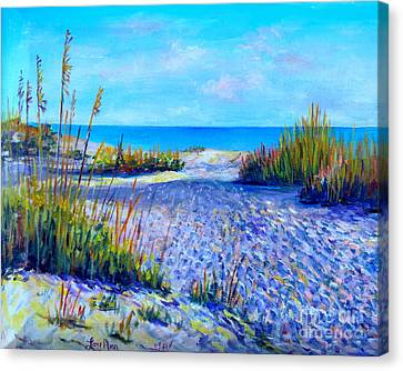 Longboat Key View Canvas Print
