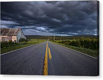 Longest Mile Canvas Print