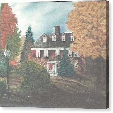 Longfellow Wayside Inn Canvas Print by Kathleen W Jones