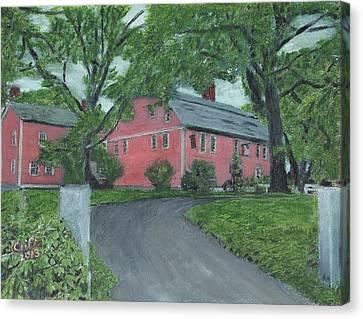 Longfellow's Wayside Inn Canvas Print by Cliff Wilson