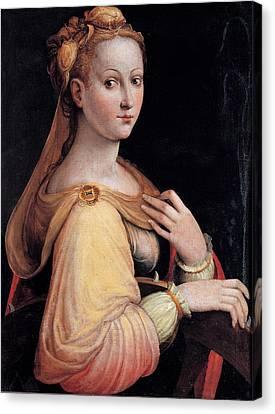 Longhi Barbara, St Catherine Canvas Print by Everett