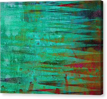 Longing - Abstract - Art Canvas Print by Ann Powell