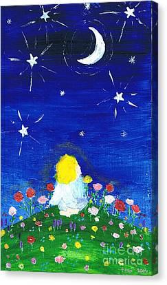 Longing Canvas Print by Agnieszka Ledwon