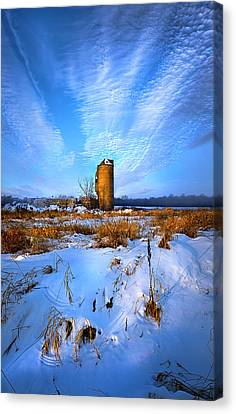 Longing For Some Solitary Company Canvas Print by Phil Koch