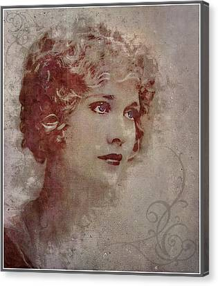 Longing... Canvas Print by Marie  Gale