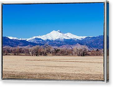 Longs Peak Canvas Print