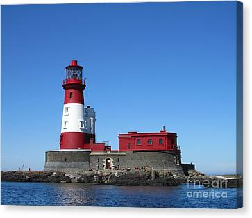 Longstone Lighthouse Canvas Print