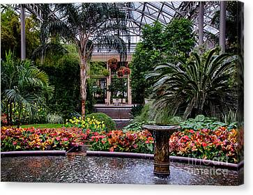 Longwood Gardens Canvas Print by Ursula Lawrence