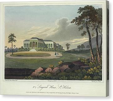 Longwood House Canvas Print by British Library
