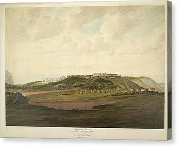 Longwood Plateau Canvas Print by British Library