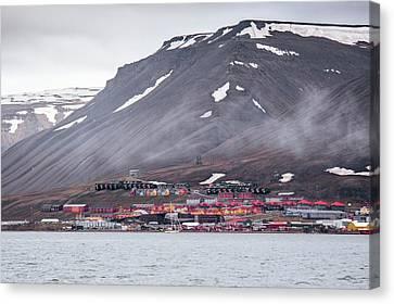 Longyearbyen Canvas Print