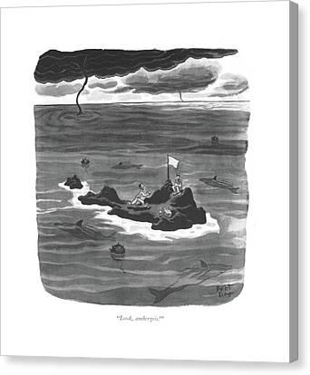 Look, Ambergris! Canvas Print